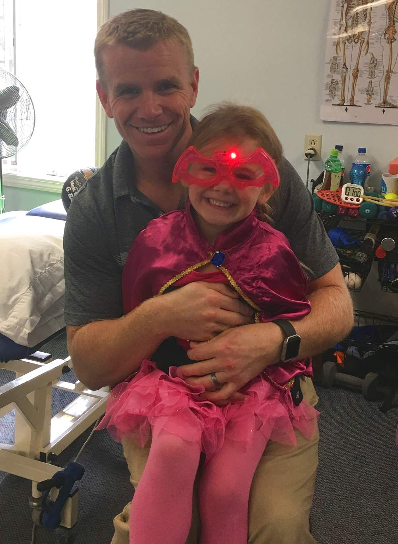 Jeff Merrigan With Daughter